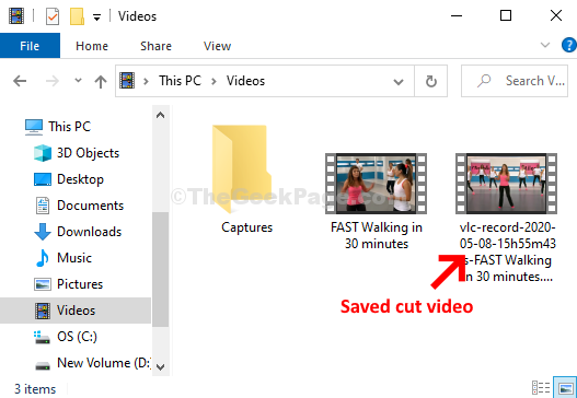 how to trim video in vlc