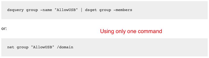 ad group membership