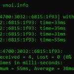 ping IPv4