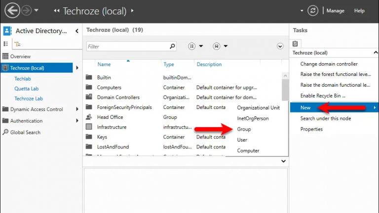 How To Create And Manage Active Directory Groups Types On Windows