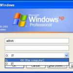 Windows domain login