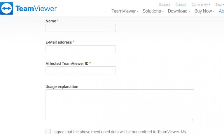 change TeamViewer ID